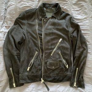 All Saints 'Miller' leather biker jacket